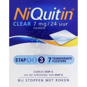 Niquitin Pleister 7mg Stap 3
