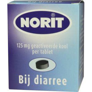 Norit Tabletten 125mg 180st