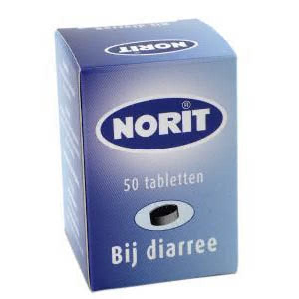 Norit Tabletten 125mg 50st