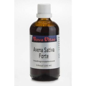 Nova Vitae Avena Sativa Forte Tinctuur 100ml