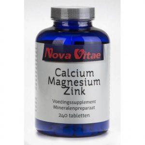 Nova Vitae Calcium Magnesium Zink Tabletten 240st