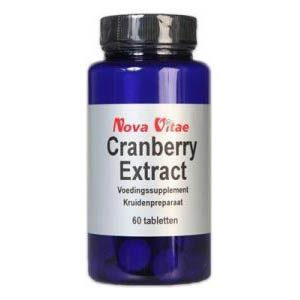 Nova Vitae Cranberry Extract Tabletten 60st