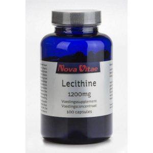 Nova Vitae Lecithine 1200mg
