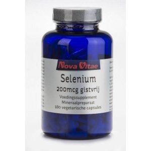 Nova Vitae Selenium 200mcg Capsules 180st