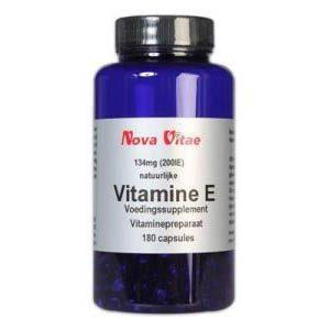 Nova Vitae Vitamine E 200iu Capsules 180st