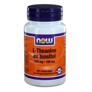 Now L-Theanine En Inositol Capsules 60st