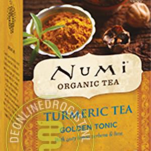 Numi Organic Tea Turmeric Golden Tonic