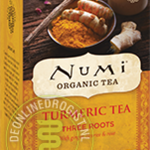 Numi Organic Tea Turmeric Three Roots