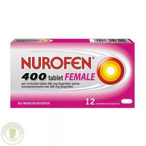 Nurofen 400 Female Tabletten 12st