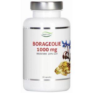 Nutrivian Borageolie 1000mg Capsules 60st