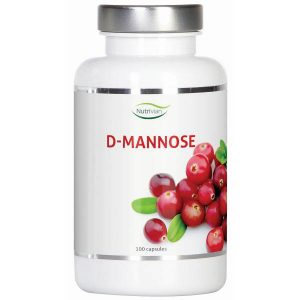 Nutrivian D-Mannose 500mg Capsules 100st