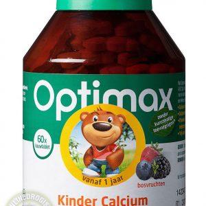Optimax Kinder Calcium Kauwtabletten 60st