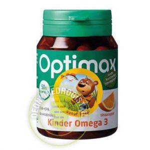 Optimax Kinder Omega 3 Kauwcapsules 50st
