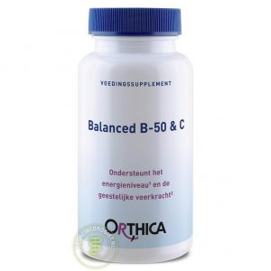 Orthica Balanced B-50 & C Tabletten 120st