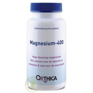 Orthica Magnesium-400 Tabletten 60st