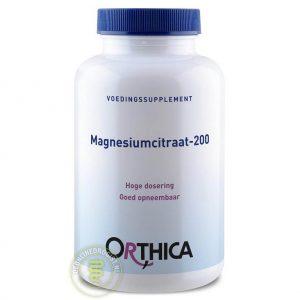 Orthica Magnesiumcitraat-200 Tabletten 120st