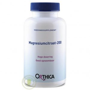 Orthica Magnesiumcitraat-200 Tabletten 60st