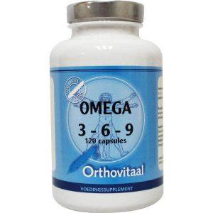 Orthovitaal Omega 3-6-9 Capsules 120st