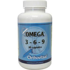 Orthovitaal Omega 3-6-9 Capsules 60st