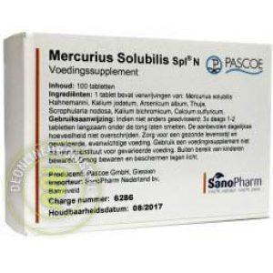 Pascoe Mercurius Solubilis Similiaplex