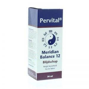 Pervital Meridian Balance 12 Blijdschap