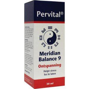 Pervital Meridian Balance 9 Ontspanning