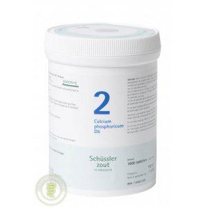 Pfluger Celzout 02 Calcium Phosphoricum D6 Tabletten 1000st