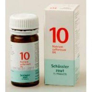 Pfluger Celzout 10 Natrium Sulfuricum D6 Tabletten
