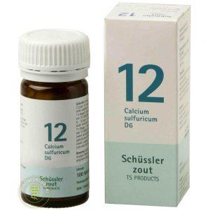 Pfluger Celzout 12 Calcium Sulfuricum D6 Tabletten