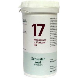 Pfluger Celzout 17 Manganum Sulfuricum D12 Tabletten