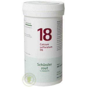 Pfluger Celzout 18 Calcium Sulfuratum D6 Tabletten
