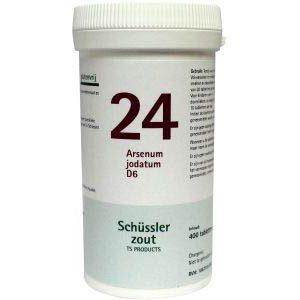 Pfluger Celzout 24 Arsenum Jodatum D6 Tabletten
