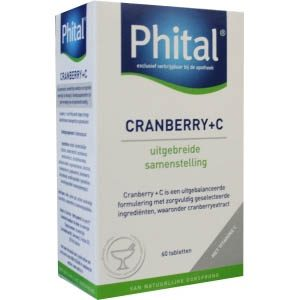 Phital Cranberry+c Tabletten 60st