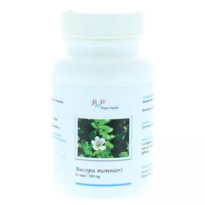 Phyto Health Bacopa Monnieri 500mg