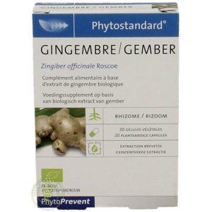 Pileje Phytostandard Gember Capsules