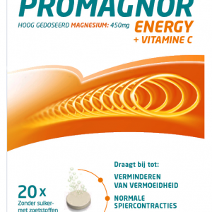 Promagnor Energy + Vitamine C Bruistabletten