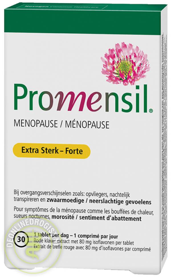 Promensil Extra Sterk Tabletten 30st