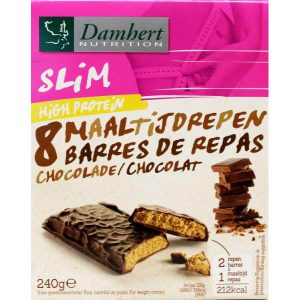 Proteinereep chocolade (8 repen)