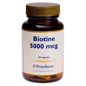 Proviform Biotine 5000mcg Vegicaps 60st