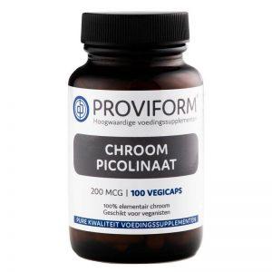Proviform Chroom Picolinaat 200mcg Capsules 100st