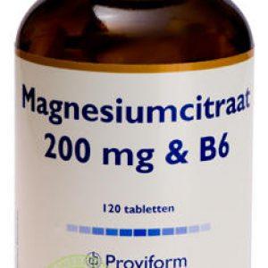 Proviform Magnesiumcitraat 200mg Tabletten 120st