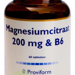 Proviform Magnesiumcitraat 200mg Tabletten 60st