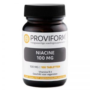 Proviform Niacine 100mg Tabletten 100st