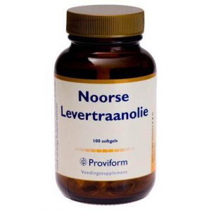 Proviform Noorse Levertraan Olie Softgel Capsules 100st