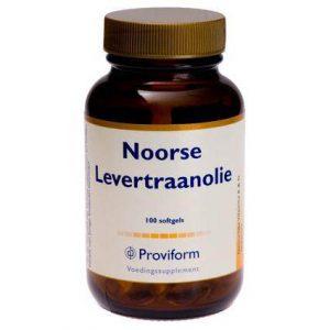 Proviform Noorse Levertraan Olie Softgel Capsules 100st