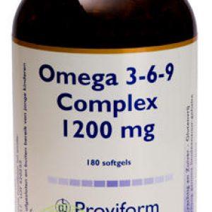 Proviform Omega 3-6-9 Complex 1200mg 180st