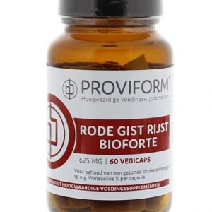 Proviform Rode Gist Rijst Bioforte 625mg Capsules 60st