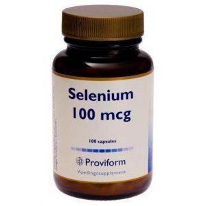 Proviform Selenium 100mcg Gistvrij Capsules
