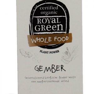 Royal Green Gember Capsules