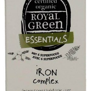 Royal Green Iron Complex Capsules 60st